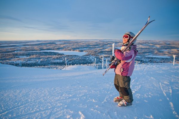 Skiing and snowboarding in Finland