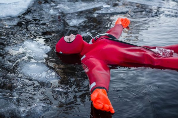 Ice Floating Experience in Finland