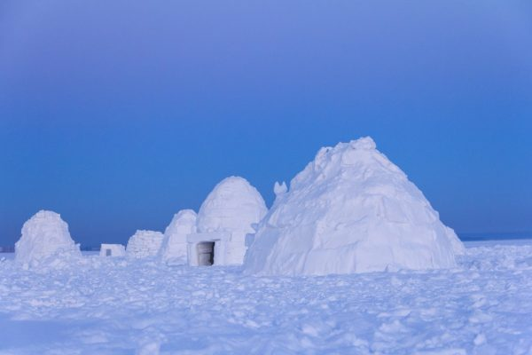 Sleep in an Igloo in Finland