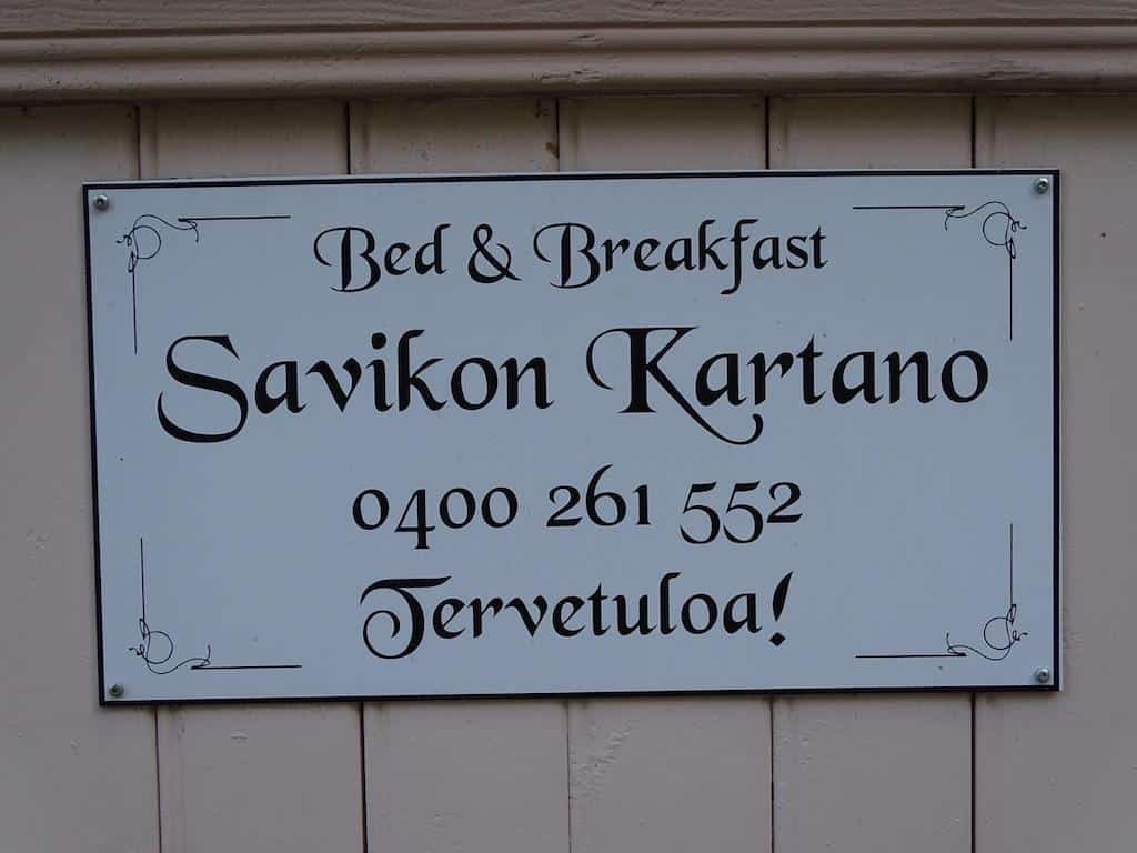 B&B Savikon Kartano